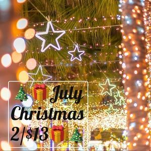 Other - Christmas 🎄🎁In July 2/$13